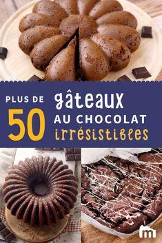 Gâteau ? Chocolat ? N'en dites pas plus, on clique ! // #gâteau #chocolat #goûter #enfant #kids #cuisine #recette #marmiton