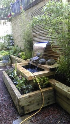 Elegant Water Features for Patios and Gardens