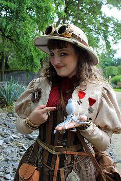Steampunk Archaeologist aka my future Amelia Peabody costume