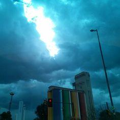 #Rosario#sky#storm by Agu Gomez