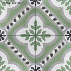 Cement Tile Shop - Encaustic Cement Tile: In Stock Cement Tile Concrete Tiles, Stone Tiles, Modern Floor Tiles, Encaustic Tile, Shops, Stone Flooring, Tile Patterns, Tile Design, Mosaic Tiles