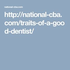 Appointing a family #dentist or choosing a dentist for yourself is a big decision.