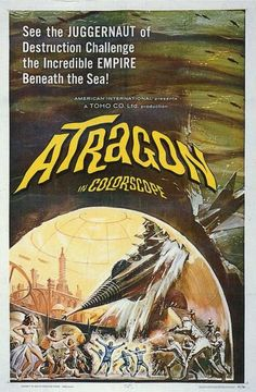 Atragon (1963) Several strange occurrences are taking place all over the world including the disappearance of two engineers. Also, former admiral Kosumi is nearly kidnapped along with his secretary, a