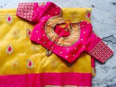 Designer blouse designs for back neck for sarees