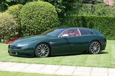 2007 ASTON MARTIN VANQUISH SHOOTING BRAKE - designed by Boniolo Advanced Design with coachwork built by Carrozzeria Quality Cars of Vigonza