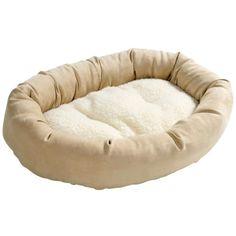 · das Hundekissen Kuschel-Donut ist ein Kissen für Hunde mit unschlagbar günstigem Preis! · Hundekissen in Donutform – schlägt bei kleinen Hunden jedes Hundesofa oder Hundebett · Schlafplatz für Hunde von HUNTER für die Kleinen, wie z.B. Chihuahuas · hochwertiges Hundebett für kleine Hunde Hunde Kissen – ein Qualitätsprodukt von HUNTER