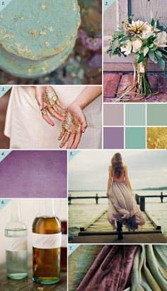 Wedding Colors Gold Purple Inspiration Boards Ideas For 2019 Gold Wedding Colors, Wedding Color Schemes, Colour Schemes, Green Wedding, Wedding Themes, Color Combinations, Wedding Ideas, Trendy Wedding, Pinterest Trends
