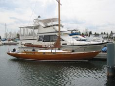 Mahogany Knarr Sailboat, 31' 1959