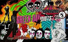 Green day background