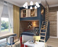 Kids Bedroom Boys, Cool Kids Rooms, Baby Boy Rooms, Kids Room Furniture, Girl Bedroom Designs, Kids Room Design, Awesome Bedrooms, Dream Rooms, New Room