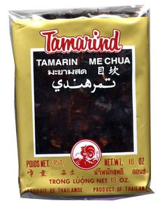 Seedless tamarind paste is a healthy ingredient widely used in Thai cuisine to make tamarind concentrate for dishes such as pad thai and sour Thai curry