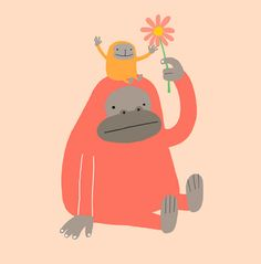 Orangatangs!!!! One of my favorite animals <3