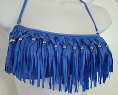 Candie's Bikini Top Fringe Blue Size XL 15 Candie's https://www.amazon.com/dp/B01IMESVF6/ref=cm_sw_r_pi_dp_iX-IxbHR07CW3