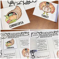 No prep November and Thanksgiving speech activities  #slp #speechtherapyideas