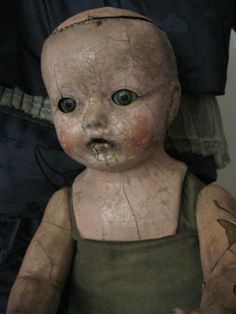 a very old doll
