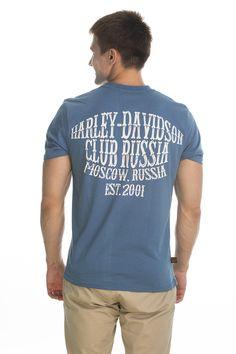 T-shirt Original; blue sky.