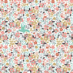 Changing Pad Cover Meadow in Tulip by 3LollipopGirls on Etsy