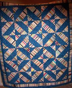 Selvage Blog: Edda's Selvage Quilt - 2