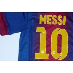 FC BARCELONA 12/13 HOME MESSI 10 FOOTBALL SOCCER KIDS JERSEY 10-11 YEARS