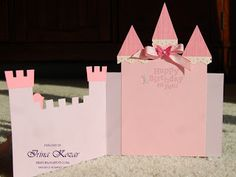 Stampin' with Irina: Castle Birthday Card