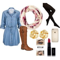 """School dress"" by memegreaves on Polyvore"