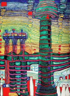 Hundertwasser | Petit Christ