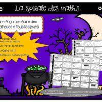 Math-spiral-jogging math-1re année-Caroline Gingras Créations Jogging, Creations, October, Walking, Running