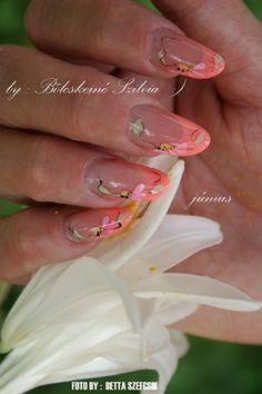 lily by bolcskeinails - Nail Art Gallery nailartgallery.nailsmag.com by Nails Magazine www.nailsmag.com #nailart