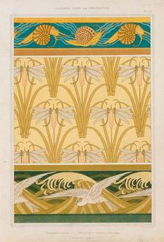 1000 images about decorazioni grafiche art nouveau art deco liberty jugendstil on pinterest. Black Bedroom Furniture Sets. Home Design Ideas