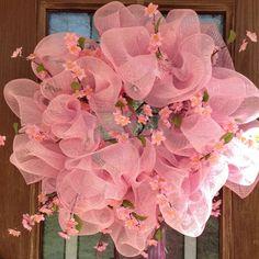 Our cherry blossom festival wreath
