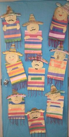 Ms. Garcia's door. Ready for 5 de mayo! Loved it from the moment I saw it!