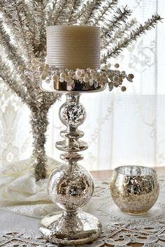 Scandinavian Spaces: Friday Fun - Faux Mercury Glass