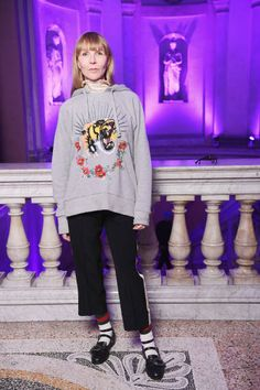 Helen Downie attends the Gucci event during Milan Fashion Week Fall/Winter 2017/18 on February 22 2017 in Milan Italy