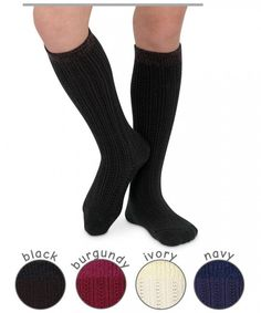 Jefferies Socks Winter Knee High