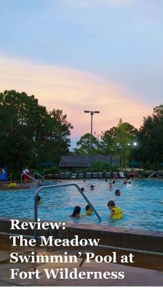 1000 images about disney 39 s fort wilderness resort complex on pinterest wilderness forts and for Meadow swimming pool fort wilderness