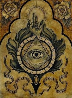 Join the Illuminati and tap into a network of world leaders for success, wealth & spiritual enlightenment. Find out how to become a member of the Illuminati. Magick, Witchcraft, Celtic Knot Tattoo, Esoteric Art, Occult Art, Mystique, Celtic Symbols, Occult Symbols, Freemasonry