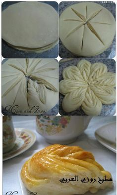 Flower bread