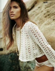 crochet summer beach fashion http://www.lookstyle.net/personal-shopping/