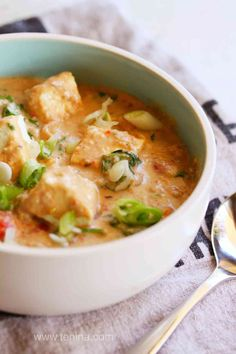 Thermomix recipe: Paneer, Spinach and Chickpea Korma · Tenina.com