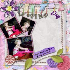 Thursday Recipe challenge - My Album - Gallery - Scrap Girls Digital Scrapbooking Forum Nikki Love, Food Challenge, Digital Scrapbooking, Thursday, Layouts, Album, Gallery, Girls, Flowers