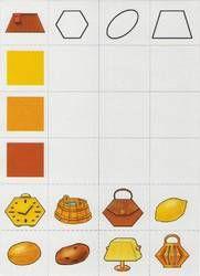 Развивающая игра для детей 6 Воспитание, развитие и обучение наших детей! Shape Games, Geometry Shape, Math For Kids, Group Activities, Worksheets For Kids, Creative Thinking, Early Learning, Critical Thinking, Teaching Kids