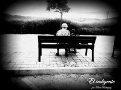El indigente. Outdoor Furniture, Outdoor Decor, Bench, Park, Home Decor, Proverbs 31, Righteousness, Parks, Interior Design