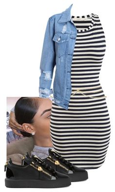 """loveeeee affection"" by chiamaka-ikaraoha ❤ liked on Polyvore featuring ASOS, Giuseppe Zanotti, women's clothing, women's fashion, women, female, woman, misses and juniors"