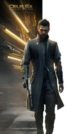 Deus Ex: Mankid Divided by KindratBlack.deviantart.com on @DeviantArt