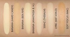 Thebalm Take Home The Bronze Swatches Comparisons Toni