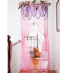 What better way to make an entrance with the Princess Party than to start with a awesome product from HearthSong! I was given a Make An Entrance Rose Garden. Fairy Bedroom, Garden Bedroom, Girls Bedroom, Bedroom Decor, Bedroom Ideas, Garden Canopy, Bedrooms, Princess Room, Princess Party