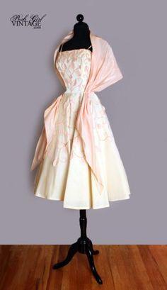 1950's tea party dress