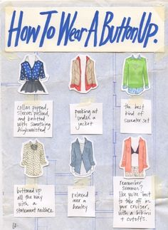 9 Charts to Help You Put Together an Amazing Outfit ...