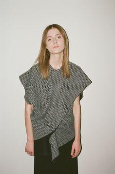 Kodachrome: Marni Compact Knit Draped Top, Drawstring Skirt