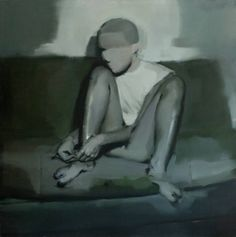 "Saatchi Art Artist Ales Brazdil; Painting, ""The Legs 2"" #art"
